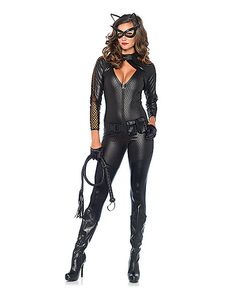 Wicked Kitty Catsuit Womens Costume - Spirithalloween.com