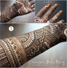 Bisha Mistry Mehndi Designs - Shade And Hue Henna Hand Designs, Mehndi Designs Finger, Latest Bridal Mehndi Designs, Full Hand Mehndi Designs, Simple Arabic Mehndi Designs, Mehndi Designs For Girls, Mehndi Designs 2018, Stylish Mehndi Designs, Mehndi Designs For Fingers