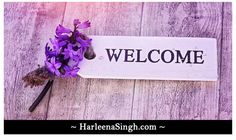 Home - HarleenaSingh.Com  Sneak Peek to my new blog...let me know how you like the Header and logo...check it out :)