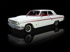 1964 Ford Fairlane Thunderbolt White