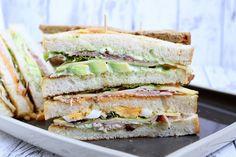 Rezepte mit Herz: Club Sandwich ♡