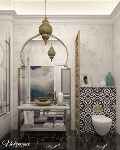 Morrocan Bathroom, Moroccan Home Decor, Moroccan Interiors, Moroccan Design, Moroccan Tiles, Moroccan Bedroom, Moroccan Lanterns, Turkish Tiles, Portuguese Tiles