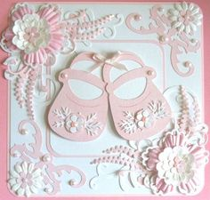 √ 28 Card for Baby Shower Baby Girl Cards, New Baby Cards, Baby Scrapbook, Scrapbook Cards, Scrapbooking, Tattered Lace Cards, Hand Made Greeting Cards, Cricut Cards, Beautiful Handmade Cards