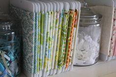 6 ea Fabric Organizers MiniBolt SMALL: store by FabricOrganizers