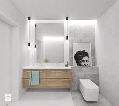 Aranżacje wnętrz - Łazienka: Projekt 8 - Mała średnia łazienka w bloku w domu jednorodzinnym bez okna, styl skandynawski - PASS Architekci. Przeglądaj, dodawaj i zapisuj najlepsze zdjęcia, pomysły i inspiracje designerskie. W bazie mamy już prawie milion fotografii!
