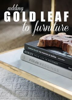 Tips on Adding Gold Leaf to Furniture