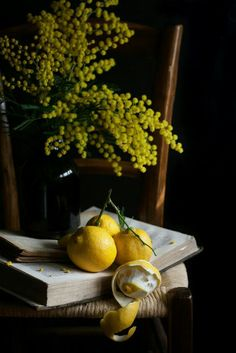 Moody photography, still life photography of lemons. Dark Food Photography, Still Life Photography, Dutch Still Life, My Photo Gallery, Fruit Painting, Still Life Photos, Light Painting, Food Illustrations, Mellow Yellow