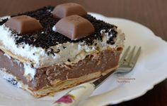 cretangastronomy.gr - Σοκολατένιο γλυκό ψυγείου με cream crackers