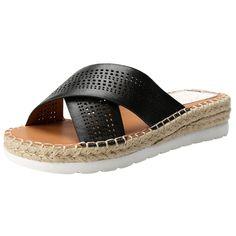 e5f6fe85c9d67 Alexis Leroy Casual Crisscross Straps Platform Espadrille Women's Slide  Sandals ** Wonderful of your presence