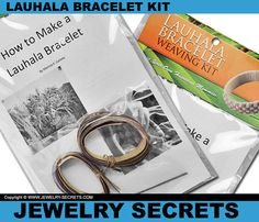 ► ► Make your own Hawaiian Lauhala Bracelet with this Cool Kit!