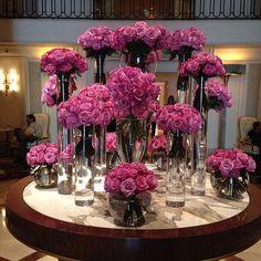 Beverly Wilshire Hotel - wedding flowers