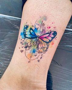 Time Tattoos, Wolf Tattoos, Leg Tattoos, Body Art Tattoos, Tatoos, Little Tattoos, Small Tattoos, Javi Wolf, Purple Flower Tattoos