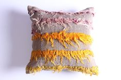 VINTAGE Wool Pillow Case - Turkish decorative kilim pillow cover,16''X16'', Bohemian Home Decor, Delivered within2-4 Days by DHL