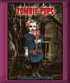 Zombie Pops Gothic Artisan Perfume Oil 1/8 fl oz