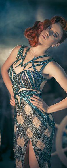 Charbel Zoe Outono-Inverno 2014-2015 - Alta-Costura - http://pt.orientpalms.com/charbel-zoe-4849