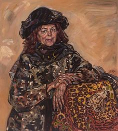 "Durdy Bayramov | ""Portrait of Roza Turayeva, People's Artist of Turkmenistan"" 