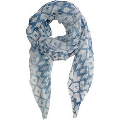 Athena Procopiou The North Berber Tribe Scarf ($396) ❤ liked on Polyvore