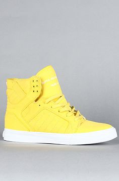 Yellow High Tops :O