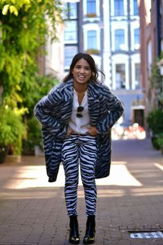 Jardin de la mode: outfit ZEBRA,OBVIOUSLY      So I have not been blo...