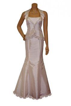 Brautkleid Standesamt Anzug Spitze 2 tlg - Brautmode , Brautkleider Schmaler Schnitt - Brautkleider Abendkleider +++ Hochzeitskleider günstig bei - event-mode.de bestellen