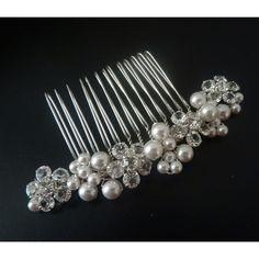 Perlen Kristall Haargesteck Ornara