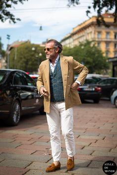 Alessandro Squarzi Street Style Street Fashion by STYLEDUMONDE Street Style Street Fashion blog