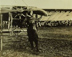 April 16, 1912: Harriet Quimby becomes the first woman to fly an airplane across the English Channel.