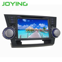"""Joying 8""""Android 5.1.1 Quad Core 2GB+32GB Car Multimedia Player Stereo For TOYOTA Highlander Kluger GPS Navigation Head Unit"""