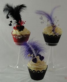 roaring twenties cupcakes | Roaring 20s Centerpieces | roaring twenties | Flickr - Photo Sharing!