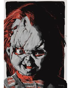 Scary Movies, Hd Movies, Horror Movies, Films, Child's Play Movie, Childs Play Chucky, Bride Of Chucky, Horror Artwork, Love Film