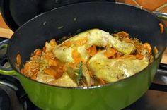 Poulet en cocotte 278 kcal