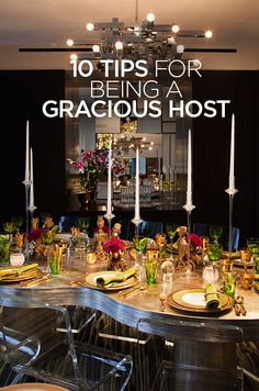 There really is no mystery to making the best out of every moment. Here's Colin's 10 tips for being an exceptional host: http://www.colincowieweddings.com/articles/engagements-celebrations/10-tips-for-being-a-gracious-host