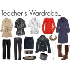 Teacher Wardrobe - I wish I could walk in the store and things would jump out at me like this!