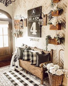 Home Decoration Living Room .Home Decoration Living Room Decoration Hall, Entryway Decor, Foyer, Wall Decor, Home Living Room, Living Room Decor, Home Interior, Interior Design, American Farmhouse