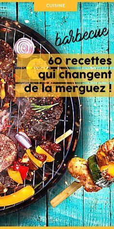 Marre des merguez ? Twistez votre barbecue avec ces idées de recettes de grillades faciles et originales ! De qoi se régaler lors de vos BBQ d'été ! /// #aufeminin #grill #grillade #grillé #barbecue #bbq #recette #été