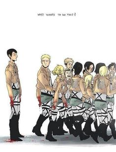Blood on your hands (Attack on Titan) - Bertholdt, Reiner, and Annie