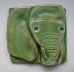 Elephant tile - these are wonderful framed as art.