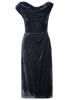 Cocktailkleid / festliches Kleid - gunmetal grey