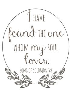 5x7 Song of Solomon 34 I have found the one by MyPaperNest on Etsy