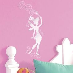 Main Street Wall Stickers Decals~Tinkerbell Fairy