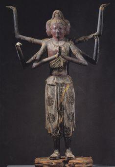 阿修羅【Asyura】 at Kofukuji temple in Nara prefecture, Japan. Spiritual Images, 17th Century Art, Korean Art, Jewish Art, Buddhist Art, Japan Art, Japanese Culture, Tribal Art, Ancient Art
