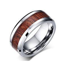DISANZHE 8MM Men Wooden Tungsten Wedding Band Ring,Silver... https://www.amazon.com/dp/B01I4VVQJ0/ref=cm_sw_r_pi_dp_rilGxbG78D3CT