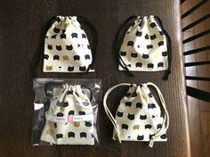 drawstring bag:MAME FUKU handemade結構、便利