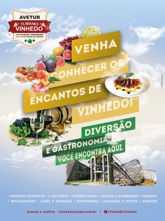 Anúncio para a associação comercial de Vinhedo que foi publicado na revista CidadeeCultura.com