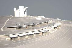 Monastério de Ronchamp, França, Arq. Renzo Piano (2006-2011). Citado como uma obra discreta e semienterrada, projetada como uma ampliação da capela de Ronchamp, projeto do Arq. Le Corbusier.