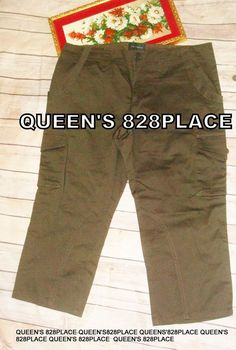 d4cf3ef8f93 New The Limited women s size 10 Stretch Brown Cargo Capris Drew Fit Pants  1238