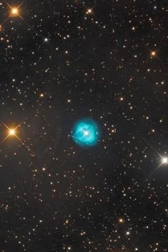 #NGC1514, The #CrystalBallNebula, is in the #constellationTaurus about 800 light years away!