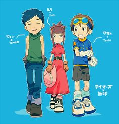 Digimon Tamers. Rika Nonaka/Ruki Makino. Takato Matsuda/Takato Matsuki. Henry Wong/Jianliang Lee. Cosplay. Digimon Adventure.