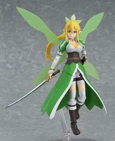 Max Factory figma Sword Art Online II Asuna ALOver Figure Limited w// Face Parts