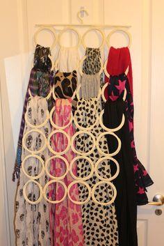 organiser ses écharpes - portant Ikea